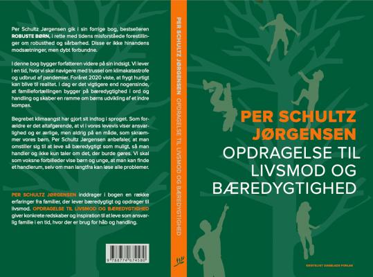 omslag bog Per Schultz Jørgensen Opdragelse til livsmod og bæredygtighed