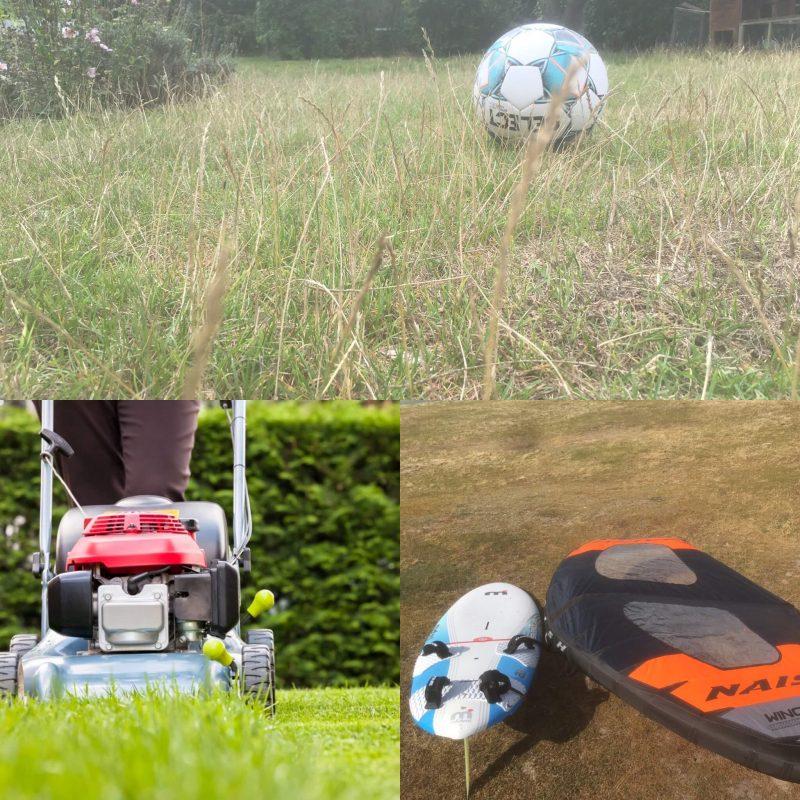 Græs eller fritidsinteresse Vil du slå græs eller nyde haven